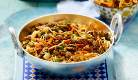 Beef Chow-Mein Noodles