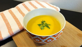 Turnip Apple and Butternut Soup